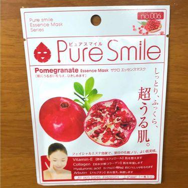 ザクロエキス/Pure Smile/シートマスク・パックを使ったクチコミ(1枚目)