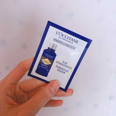 イモーテル プレシューズエッセンシャルフェイスウォーター/L'OCCITANE/化粧水を使ったクチコミ(1枚目)