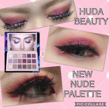 new nude/Huda Beauty/パウダーアイシャドウを使ったクチコミ(1枚目)
