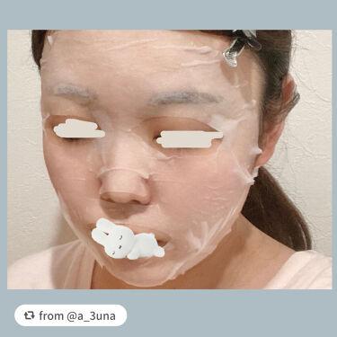 ホワイト ステムパーフェクトマスク/LITS/シートマスク・パックを使ったクチコミ(4枚目)