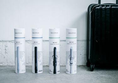 SALONIA ミニストレートヘアアイロン/SALONIA/ヘアケア美容家電を使ったクチコミ(3枚目)