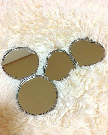 バラの花 両面コンパクトミラー/DAISO/その他化粧小物を使ったクチコミ(3枚目)