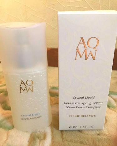 AQ MW クリスタル リキッド/COSME  DECORTE/美容液を使ったクチコミ(1枚目)