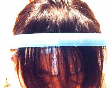 フェイスガード付前髪カット用クリップ/ウォーターライトG.E./ヘアケアグッズを使ったクチコミ(3枚目)