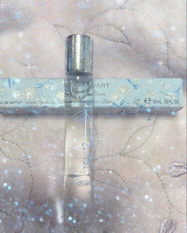 クリスタルブルーム サムシングピュアブルー オードパルファン ローラーボール/JILL STUART/香水(レディース)を使ったクチコミ(1枚目)
