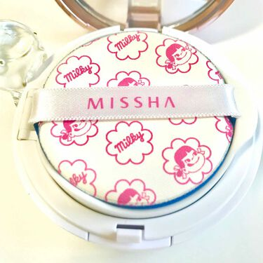 M クッションベース(ミルキー)/MISSHA/化粧下地を使ったクチコミ(2枚目)
