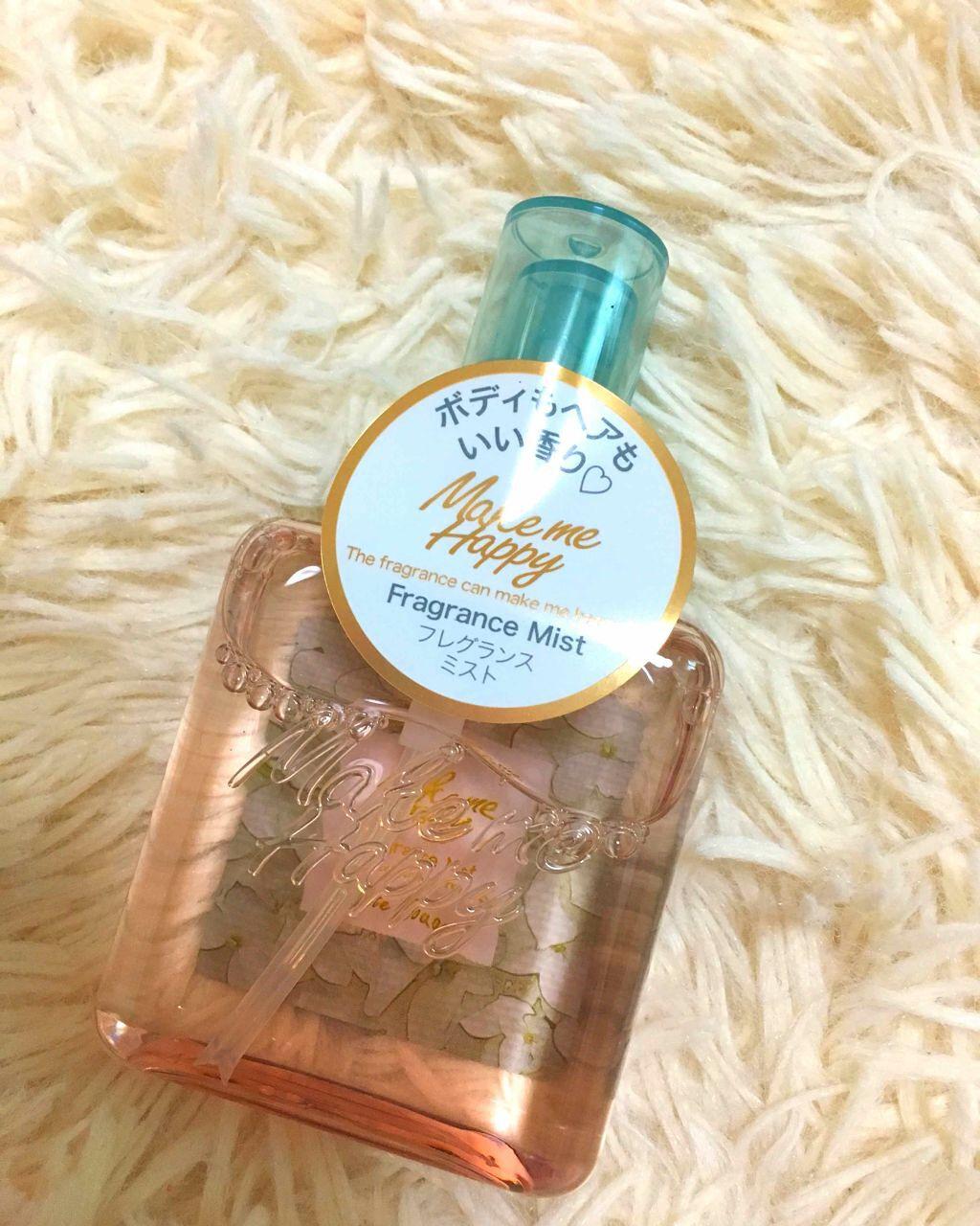 fae866e2b933 CANMAKE メイクミーハッピー フレグランスミスト(香水(レディース))を使ったクチコミ