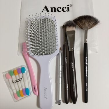 ANC 102S/Ancci brush/メイクブラシを使ったクチコミ(1枚目)