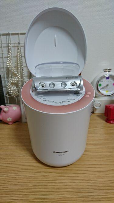 スチーマー ナノケア EH-SA98/Panasonic/スキンケア美容家電を使ったクチコミ(2枚目)