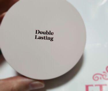 ダブルラスティング クッショングロウ/ETUDE/クッションファンデーションを使ったクチコミ(2枚目)