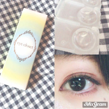 eye closet 1DAY(アイクローゼット ワンデー)/EYE CLOSET/カラーコンタクトレンズを使ったクチコミ(2枚目)