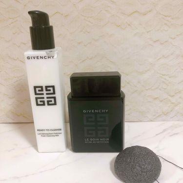 ソワン ノワール クレンジング リチュアル EX/GIVENCHY/洗顔フォームを使ったクチコミ(3枚目)