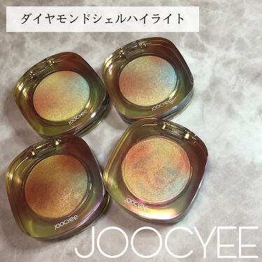 ダイヤモンドシェルハイライト/Joocyee/ハイライトを使ったクチコミ(1枚目)