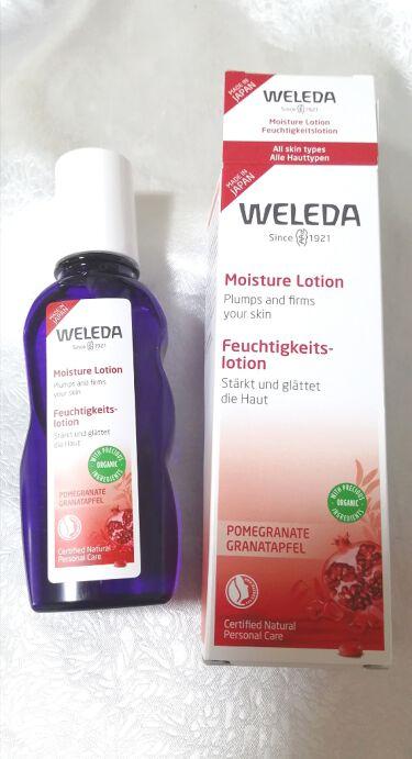 ざくろ モイスチャーローション/WELEDA/化粧水を使ったクチコミ(1枚目)