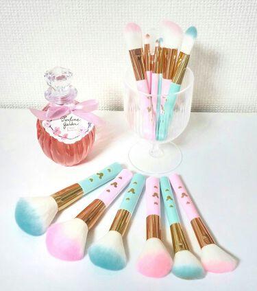 ♡yuuki♡さんの「ザ・ダイソーごくふわっ ミッキーブラシ<メイクブラシ>」を含むクチコミ