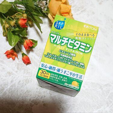 サプリル マルチビタミン/井藤漢方製薬/健康サプリメントを使ったクチコミ(1枚目)