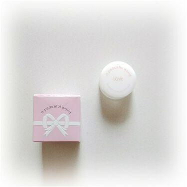 LOVE ソリッドパフューム/a peaceful world/香水(レディース)を使ったクチコミ(3枚目)