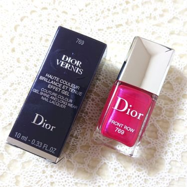 ディオール ヴェルニ/Dior/マニキュアを使ったクチコミ(4枚目)
