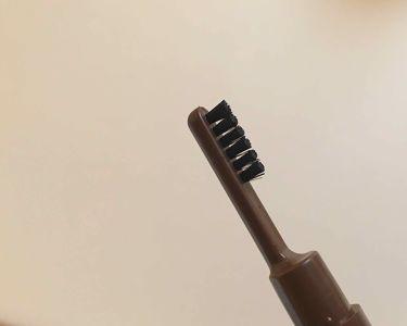 まゆずみ ブラシ付/ちふれ/アイブロウペンシルを使ったクチコミ(3枚目)