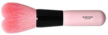 熊野筆 化粧筆 HB(ハート型)シリーズチークブラシ
