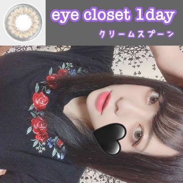 """eye closet 1day SweetSeries """"Half""""(アイクローゼットワンデー スウィートシリーズ ハーフ)/EYE CLOSET/カラーコンタクトレンズを使ったクチコミ(1枚目)"""