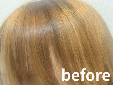 泡カラー 白髪用/ブローネ/ヘアカラーを使ったクチコミ(2枚目)