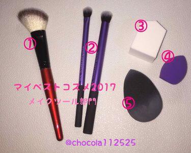 chocola♡美容趣味さんの「ザ・ダイソー春姫 チークブラシ<メイクブラシ>」を含むクチコミ