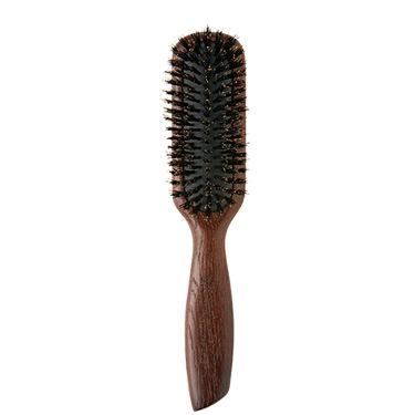 ウッドヘアブラシ ブラウン Mサイズ