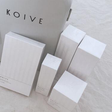 koive moistset/koive/スキンケアキットを使ったクチコミ(1枚目)