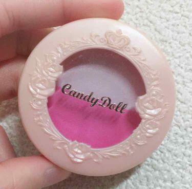 チークカラーデュオ/CandyDoll/パウダーチークを使ったクチコミ(3枚目)