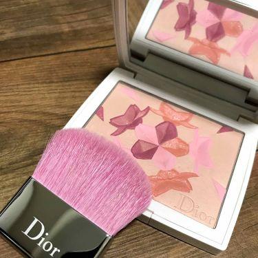 Dior スノーブラッシュ&ブルームパウダー