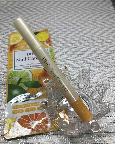 【画像付きクチコミ】DHCネイルケアオイルシトラス&ベルガモットいい香りだったので思わず購入♡香りの持続性はないかな…。サラッとしててベタつかなくて良い◎筆ペンタイプで使いやすいです(。•ᴗ•。)♡