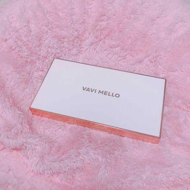 足の裏さんの「VAVI MELLO(バビメロ)バレンタインボックス<パウダーアイシャドウ>」を含むクチコミ