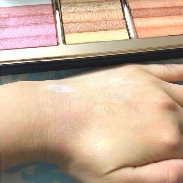 HIGHLIGHT & GLOW Shimmer Brick Palette/BOBBI  BROWN/パウダーチークを使ったクチコミ(3枚目)