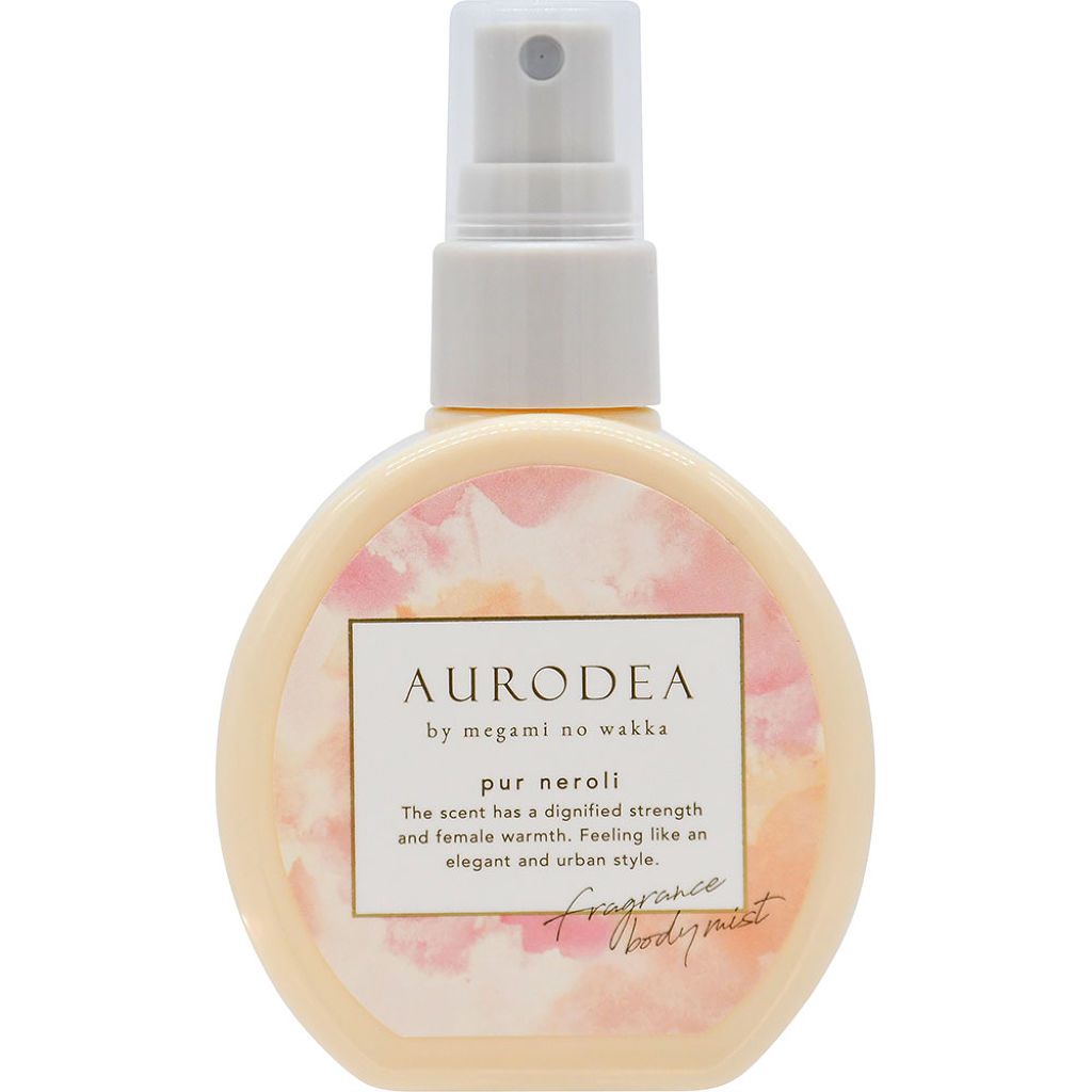 AURODEA by megami no wakka fragrance body mist pur neroli
