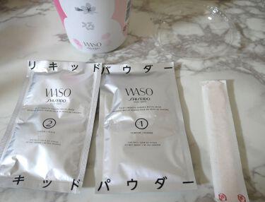 シルキー スムース さくらもち マスク/WASO/シートマスク・パックを使ったクチコミ(2枚目)