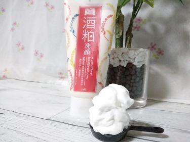 ワフードメイド 酒粕洗顔/pdc/洗顔フォームを使ったクチコミ(3枚目)