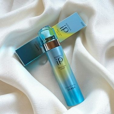 LIPSベストコスメ2020上半期カテゴリ賞 美容液部門 第2位 SOFINA iP ベースケア セラム<土台美容液>の話題の口コミ・レビューの写真 (1枚目)