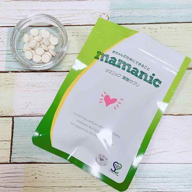 ママニック葉酸サプリ/レバンテ/健康サプリメントを使ったクチコミ(1枚目)