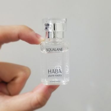 高品位「スクワラン」/HABA/フェイスオイル・バームを使ったクチコミ(2枚目)