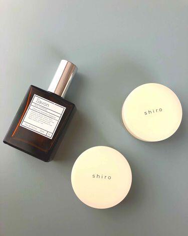 みほさんの「shiro (シロ)練り香水 サボン<香水(その他)>」を含むクチコミ