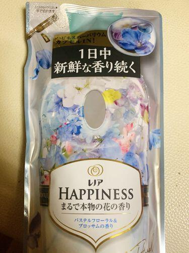 レノアハピネス アロマジュエル ダイアモンドフローラルの香り/レノア/香り付き柔軟剤・洗濯洗剤を使ったクチコミ(4枚目)