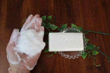 アイボリー石鹸 アロエ/IVORY(アイボリー)/ボディ石鹸を使ったクチコミ(2枚目)