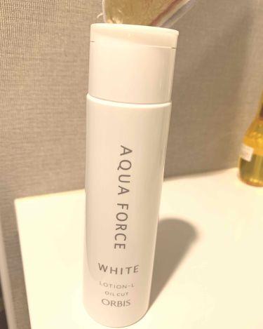 アクアフォースホワイトローション/ORBIS/化粧水を使ったクチコミ(1枚目)