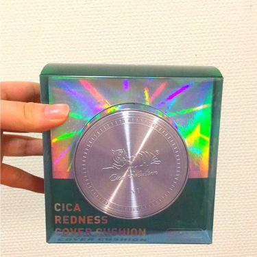 VT CICAレドネスカバークッション/VT Cosmetics/その他ファンデーションを使ったクチコミ(1枚目)