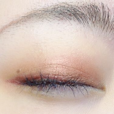 【画像付きクチコミ】Dior サンククルールクチュール<サマーデューン> 759デューンでメイク💄 全顔あります➡️♥️アイメイクレシピ♥️右下の茶色をアイホール全体に左下のピンクを二重幅より広めに下瞼の目尻側にもピンクを赤いアイライナーで目尻だけライン...