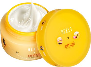 Hexze emoji the iconic brand モイストジェルクリーム HEXZE(ヘックスゼ)