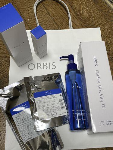 クリアウォッシュ/ORBIS/洗顔フォームを使ったクチコミ(1枚目)