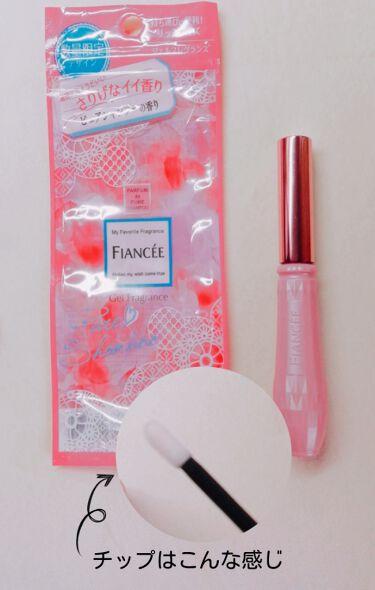 ジェルフレグランス ピュアシャンプーの香り N/フィアンセ/香水(レディース)を使ったクチコミ(4枚目)