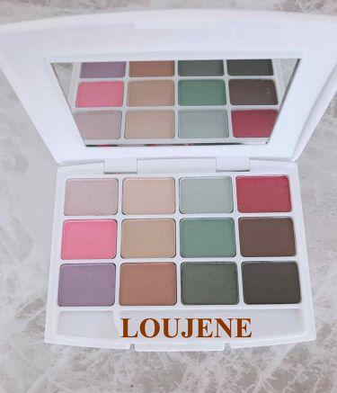 12色アイシャドウパレット/LOUJENE/パウダーアイシャドウを使ったクチコミ(2枚目)